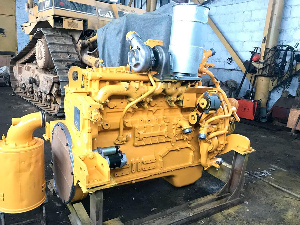 Двигатель Komatsu SA6D155-4